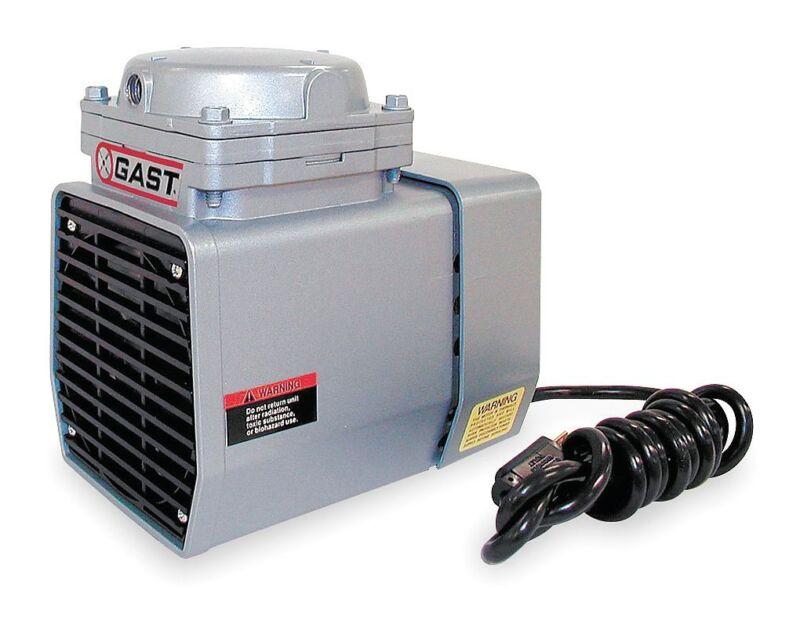 Gast 1/8 HP Diaphragm Compressor/Vacuum Pump - DOA-P707-AA