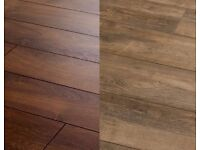 Quality, Cheap Laminate & Vinyl | Only £6.99m² | Private Seller | Immediate Fitting