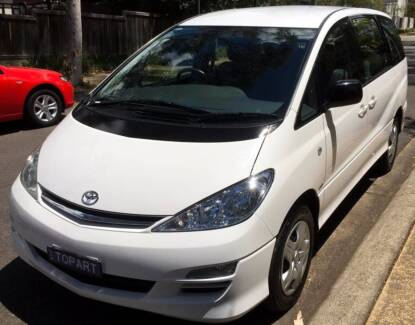 TOYOTA TARAGO 8 Seater people mover Immaculate  69,674 low KM