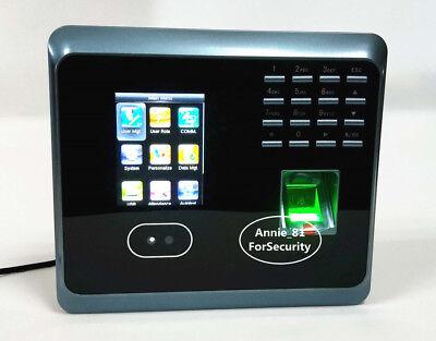 Wifi Facial Fingerprint Attendance System Employee Fingerprint Time Clock