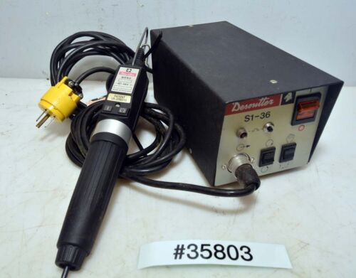 Desoutter S5x2 Power Screw Driver And S1-36 Power Supply (inv.35803)