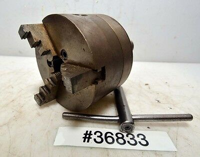 Union 3 Jaw 4 Chuck No. 93 5c Collet Mount Inv.36833