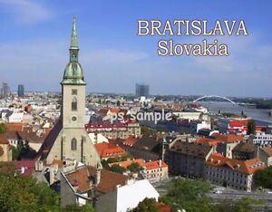 Slovakia-BRATISLAVA-Travel-Souvenir-Fridge-Magnet