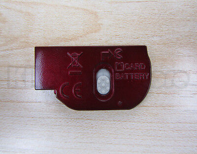 Battery Door Cover Lid Cap Repair Part Replacement For Nikon L20 Red on Rummage