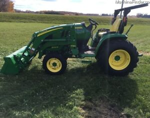 2015 John Deere 3046R Compact Utility Tractor