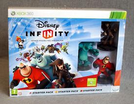 Xbox 360 Disney Infinity 1.0, CD & Game Giude Book.