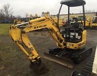 2013 New Holland E18SR Mini Excavator