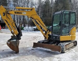 2017 Kobelco SK45RX Excavator at Auction