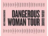 Arianna Grand Dangerous Woman Tour Manchester