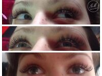 Eyelashes extension 1:1 2D 3D 4D 5D& nails Special offer !