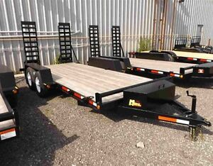 5 Ton Miska Low Bed Float Trailers - Canadian Made Kitchener / Waterloo Kitchener Area image 1