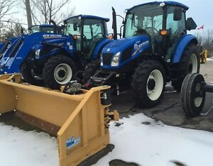 New Holland 4.75 Powerstar with HLA Plow