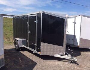 Miska 6'x12' Enclosed Aluminum Trailer