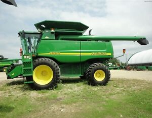 2002 John Deere 9650 STS Combine Kitchener / Waterloo Kitchener Area image 4