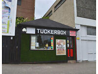 Takeaway food business for Sale in Paisley the popular TUCKERBOX : Leasehold Fixed price £21000