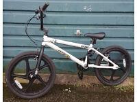 zinc backbone boys bmx bike