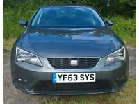 2013 SEAT Leon 2.0 TDI CR SE (Tech Pack) £20 Year Tax & 150 BHP!! 50-70 MPG AWESOME!!