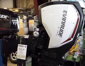 New Evinrude E-TEC Outboards IN STOCK
