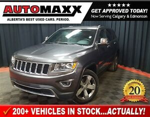 2016 Jeep Grand Cherokee Limited w/Leather/Sunroof!