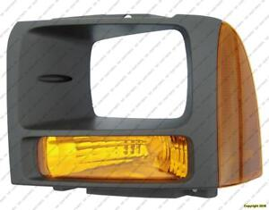 Side Marker Lamp Driver Side Gray Trim Ring High Quality Ford F250 F350 F450 F550 2005