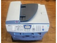 BROTHER Laser Printer MFC-7420 Print / Copy / Fax All In One *NEW DRUM & TONER*