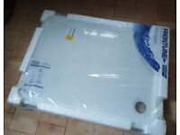 Brand new Frontline stone resin shower tray 1200x900mm