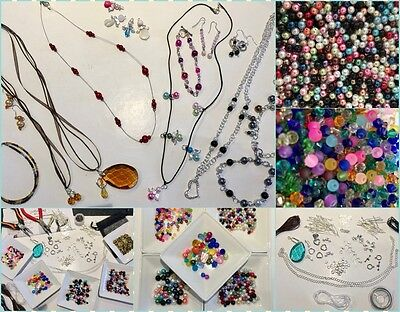 FAB Starter/Beginners/Adult Jewellery Making Kit, Tools, Beads & Instructions