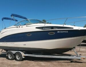 2008 Bayliner 265 Cruiser with Trailer