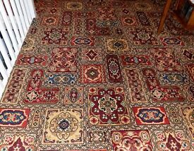 Axminster carpet in excellent condition.
