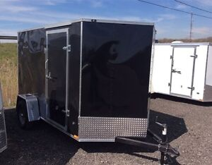Miska Titan STET 6'x12' Enclosed Trailer