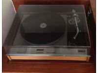 VINTAGE 1970s THORENS TD125 Turntable Record Player with SME 3009 Tone Arm and Linn K18 Cartridge