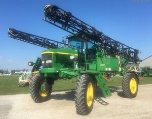 1999 John Deere 4700 Self Propelled Sprayer