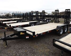 Canadian Made - Bobcat HD Low-Bed Float Trailers Kitchener / Waterloo Kitchener Area image 2