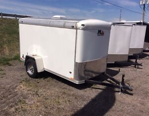 Miska Liberty SLT 5'x10' Enclosed Trailer