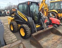 2012 New Holland L230 Skid Steer with Cab