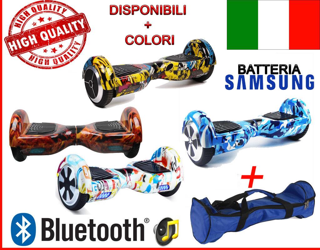 OVERBOARD SMART BALANCE MONOPATTINO ELETTRICO SCOOTER BLUET. -6.5