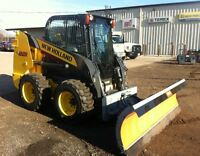 New Holland L221 Skid Steer with Cab