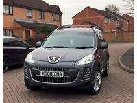 Peugeot 4007, 7 SEATER, 2.2 HDI DIESEL 2008 LEATHER, XENON, ROOF BARS