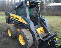 2007 New Holland L185 Skid Steer