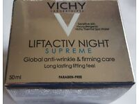 VICHY LIFTACTIV NIGHT SUPREME GLOBAL ANTI-WRINKLE & FIRMING CARE