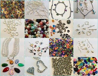 Super Starter/Beginners/Adult Jewellery Making Kit, Tools, Beads & Instructions
