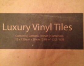 Forbo luxury vinyl tiles bar and new in boxes.Two packs available oak colour