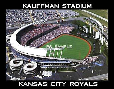 Kansas City Royals Kauffman Stadium (Kansas City Royals - KAUFFMAN STADIUM - Souvenir Magnet)