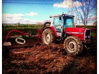 Agricultural drain jetting service
