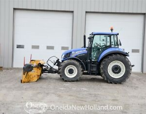 Used New Holland T5.115 w/ 14' Metal Pless Snow plow