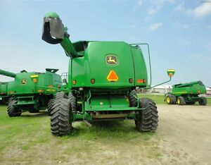 2002 John Deere 9650 STS Combine Kitchener / Waterloo Kitchener Area image 5