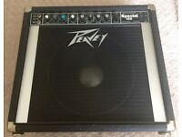 Vintage 1980's USA made Peavy 130 Special Solo Series Amplifier with Black Widow speaker for sale