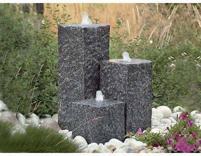 """Gartenbrunnen Brunnen Garten Wasserspiel Springbrunnen """"Siena"""" mit Beleuchtung"""
