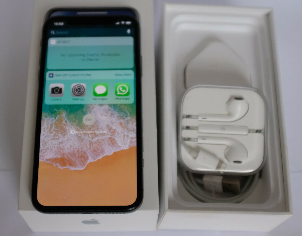 Apple iPhone X 256GB Space Grey Fully unlocked - No PAYPAL - No POSTING    in Queens Park, London   Gumtree