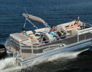 2018 Princecraft Vectra 21 Pontoon Boat